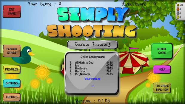 Simply Shooting Alpha v0.1.03