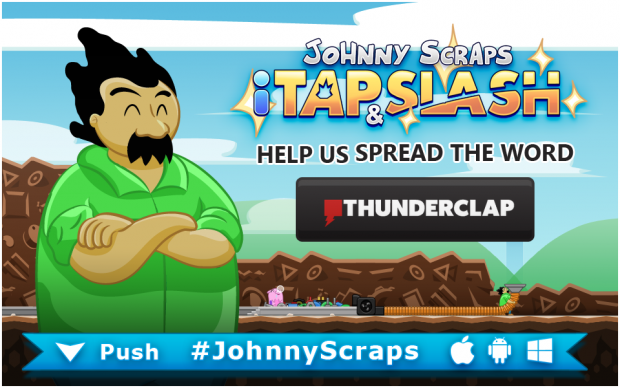 Johnny Scraps Thunderclap!