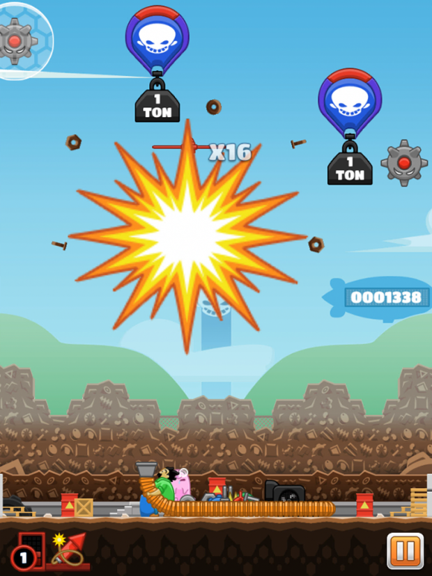 Johnny Scraps: i Tap & Slash - Screenshot Smitons