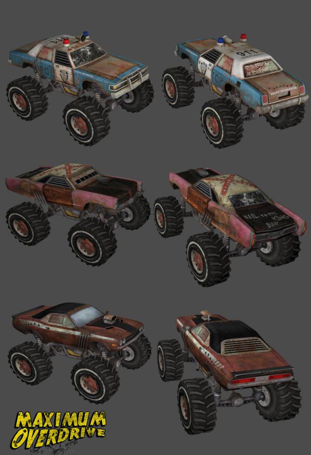 Maximum Overdrive Updated Trucks