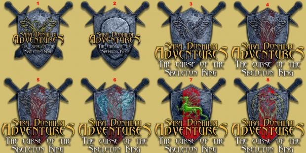 Sara Donhildi Adventures - Logos