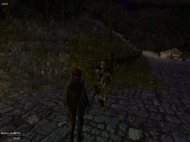 Late night encounter