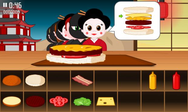 Burgers in Japan