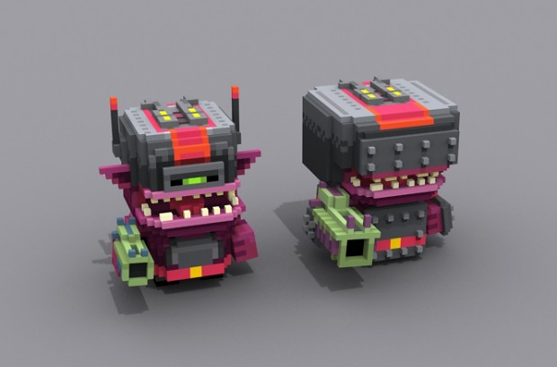 Smith and Winston new enemy models