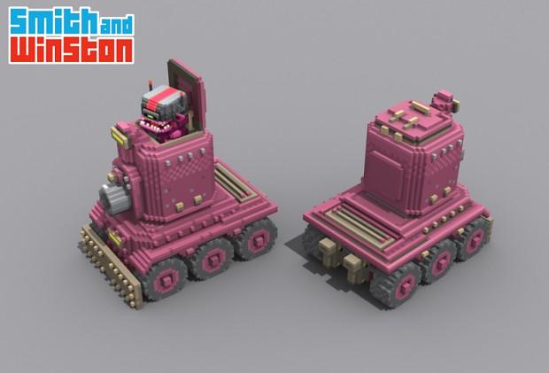 Alien Tank!