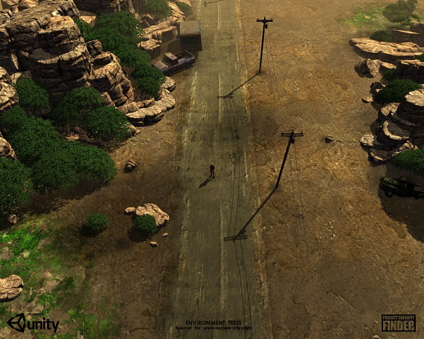 First environment tests - #07