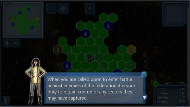 Ion Galactic: The Conflict Screen Shots