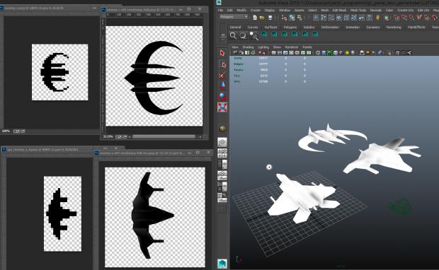 Pixel Art to 3D Models
