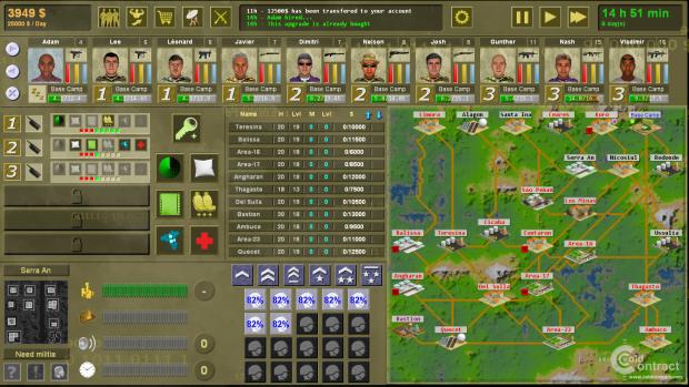 interface screenshots
