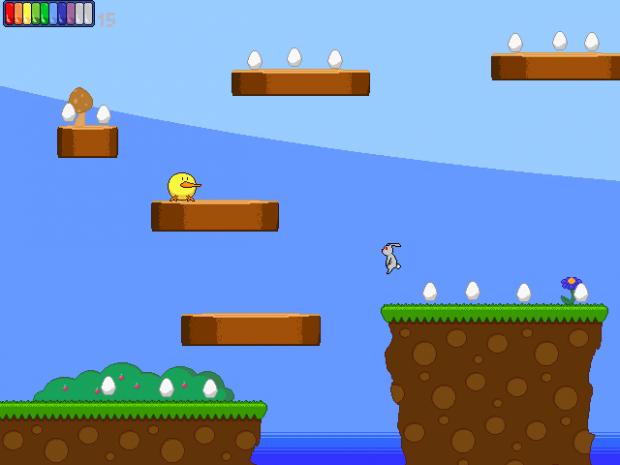 Duck is just walkin' along.