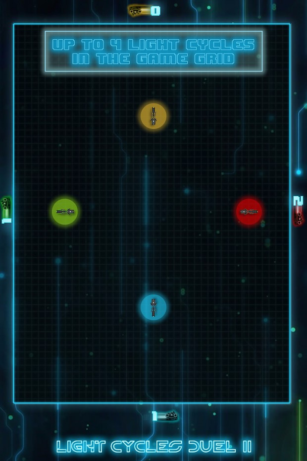 New version of Light Cycles Duel II now available