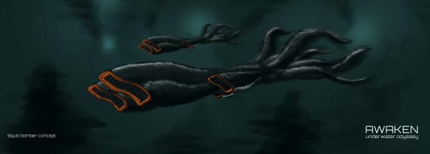 Alien Squid Bombers