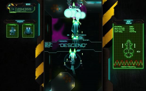 descent mission begining