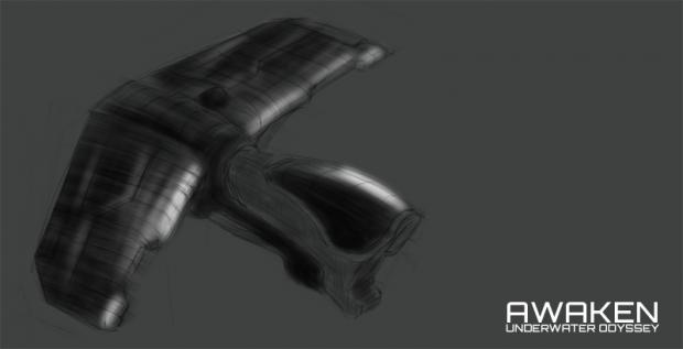 Alien interceptor concept
