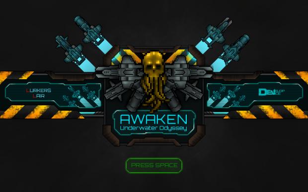 Awaken:Underwater Odyssey - intro screen