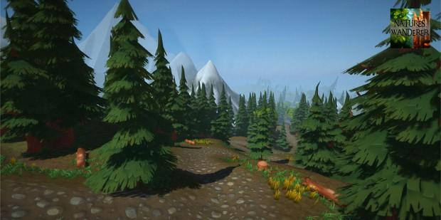 New screen shot! ~ Mountain Path