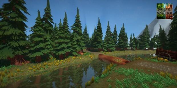 New screen shot! ~ Mountain River