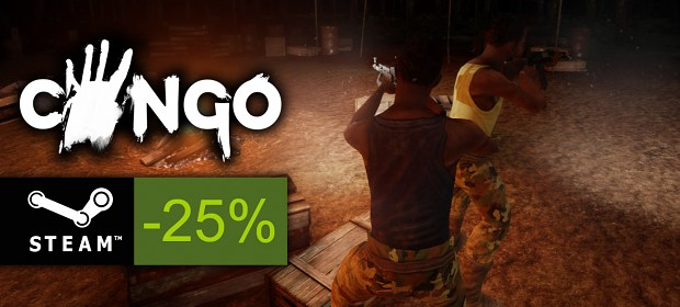 Congo is 25% off now! :)