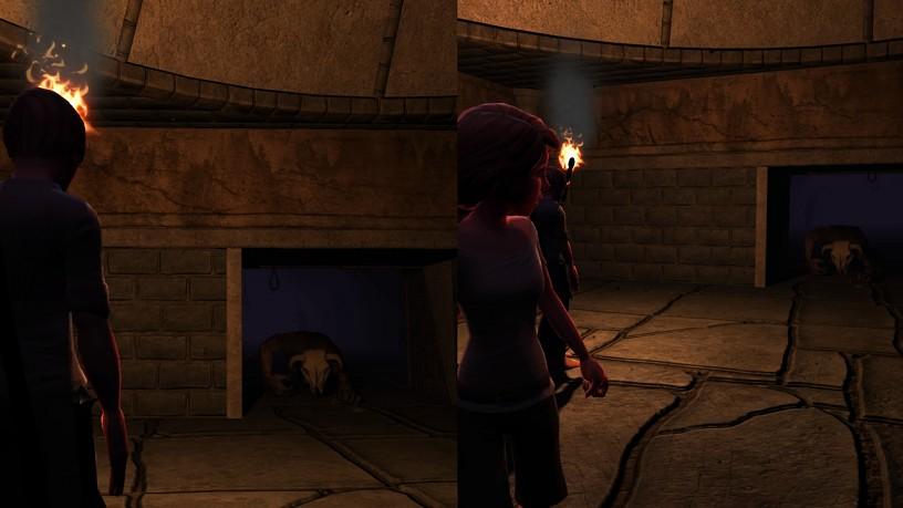 Screenshots of Tomb of Rooms