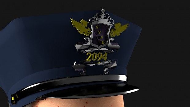 NYPD Shield Hat