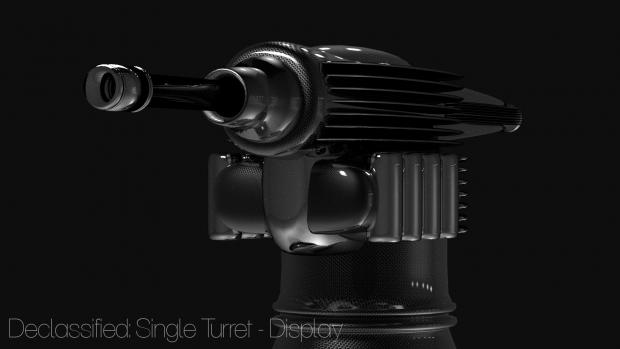 Declassified Single Turret - Low Tech