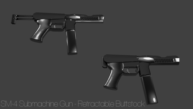 SM-4 Italian Edition Retractable Buttstock