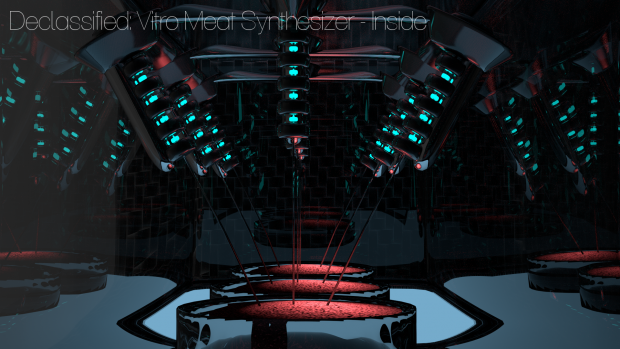 Vitro Meat Synthesizer - Inside