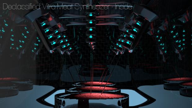 Vitro Meat Synthesizer - Inside
