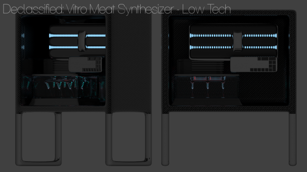 Vitro Meat Synthesizer - Low Tech Prop