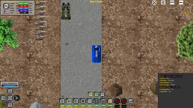 Image of Burning Ammo for Gatling