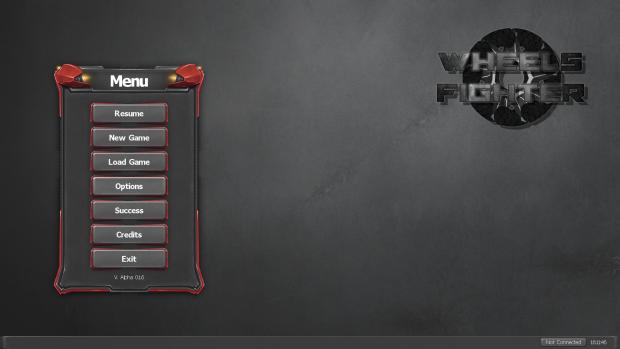 New menu in version 0.1.6