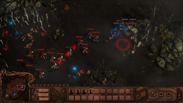 Screenshots from the game