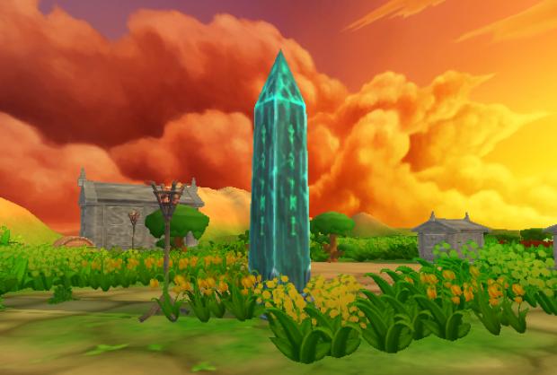 Resurrection Tower at Sunset