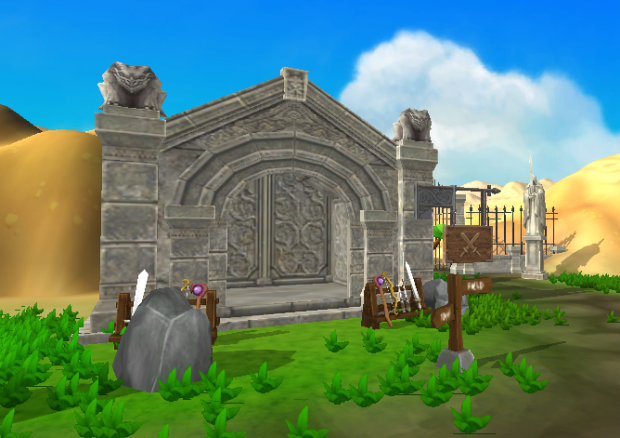 Graveyard Zombie Weapons Shop