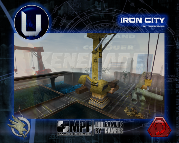 Map Iron City by TrunksKGB