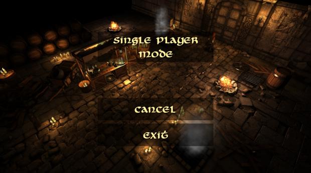 Single or Multiplayer Menu