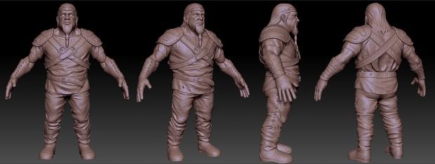 Sculpture: Dwarf(Armor)