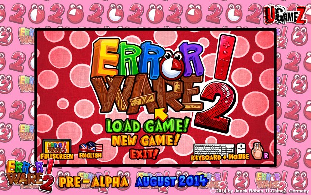Error Ware 2 Pre-Alpha Screenshots (August 2014)