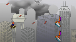 Mustache Ride: Rainbow Edition more screenshots