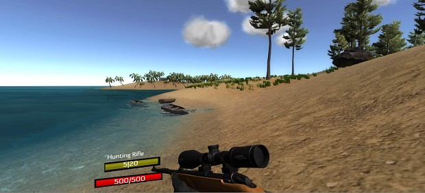 New Hunting rifle