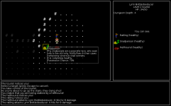 Creature Tiles, Environment ASCII