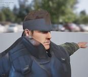 Solid Snake Bandada face