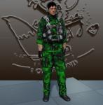 Solid Snake pose