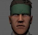 Final Solid Snake face