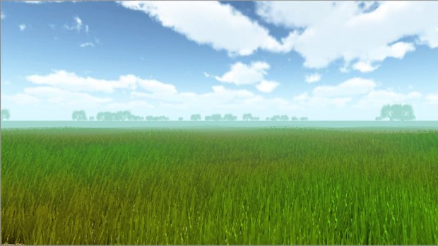 Walking On Grass Simulator