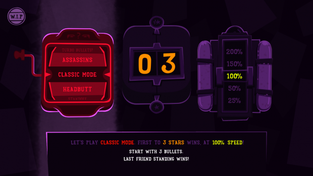New Menu Screen (Steam Early Access #1)