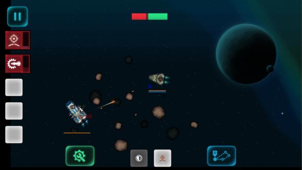 Action in Battlestation: Harbinger