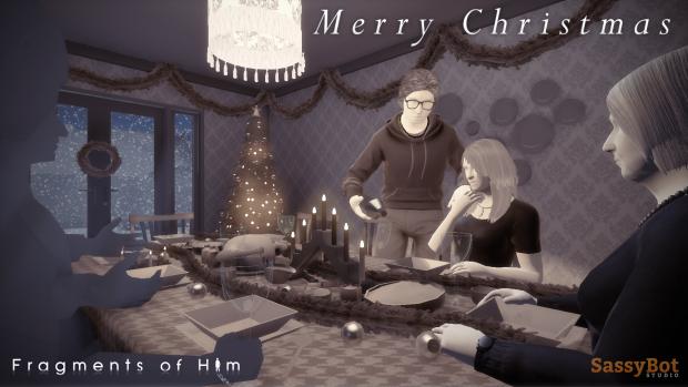 Fragments of Him - Christmas scene