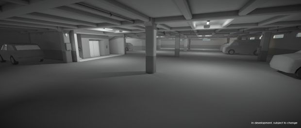 Parking Garage - Early Work in Progress