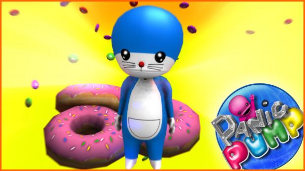 Bumbi likes Doraemon!